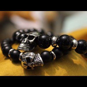 Other - Unisex skull bracelet